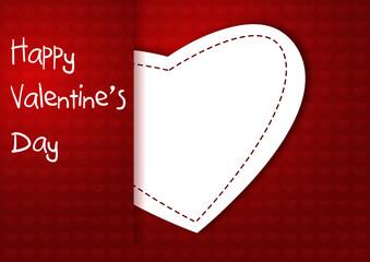 Cuore San Valentino vector
