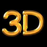 3d word for adv or others purpose use