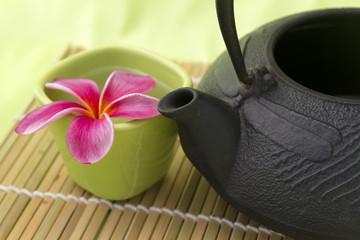 Décor autour du thé
