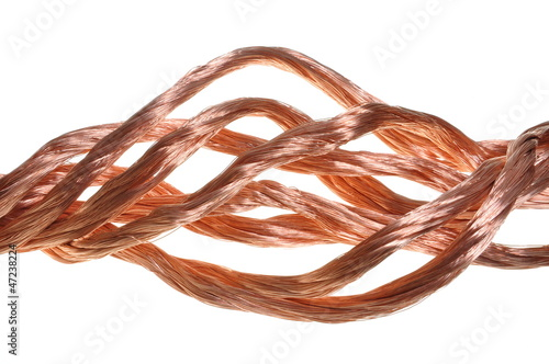 Copper wire , idea of flow energy