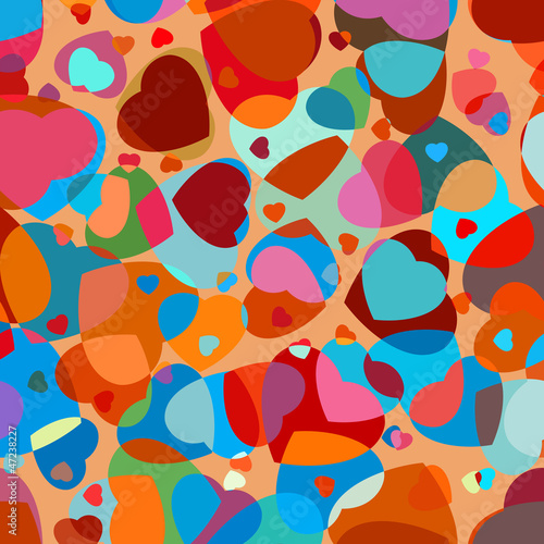 Abstract background to the Valentine's day. EPS 8
