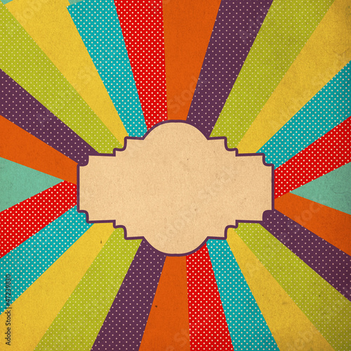 art image, colorful pattern