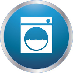 laundry icon blue