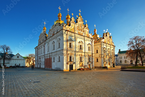 Dormition Cathedral. Kiev-Pechersk historical preserve.