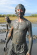 bain de boue à Nin, Croatie