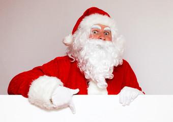 Frohe Weihnachten vom Weihnachtsmann