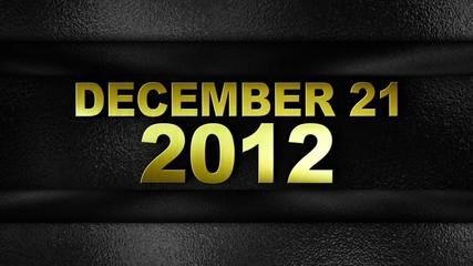 DECEMBER 21 2012 Gold in Metal Door - HD1080