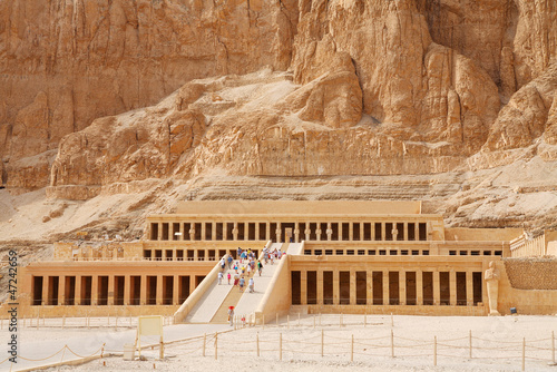 Temple of Queen Hatshepsut. Luxor, Egypt