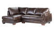 Soft and comfortable luxury genuine leather bench