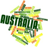 Word cloud for Australia