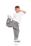 Fototapety Boy dancing
