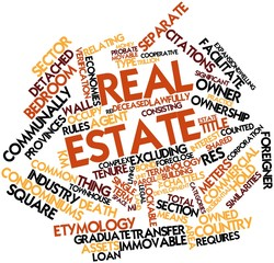 Word cloud for Real estate