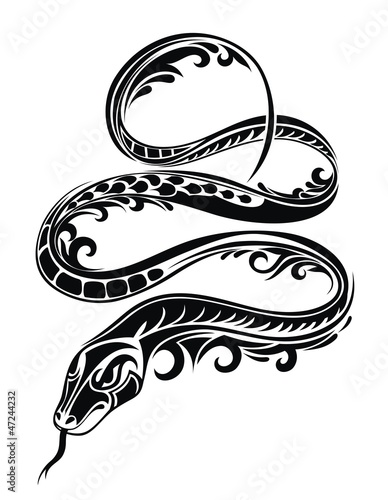 Snake 2013. Tatoo design