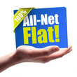 All-Net-Flat! Button, Icon