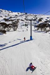 SM Chairlift Snowboard Vert