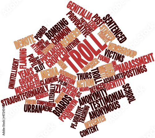 Word cloud for Troll