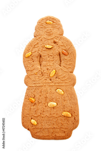 Typical Dutch speculaas pop