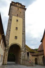 Rothenburg ob der Tauber, la Torre della bastia dell'ospedale