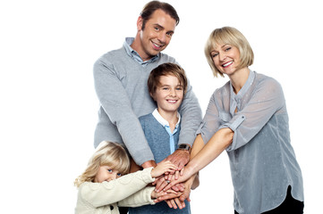 United family pledging their forever support