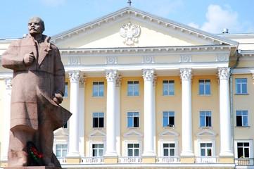 Lenin statue in Russia, Smolensk