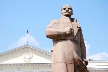 Lenin statue in Smolensk, Russia