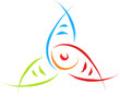 abstract fish symbol