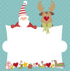 Happy Christmas - Greeting card