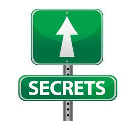 secrets street sign
