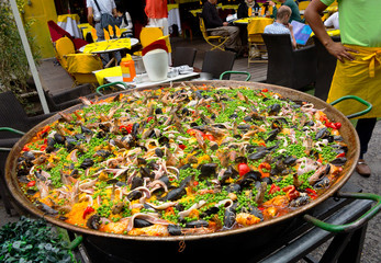 Food. Paella. Spanish food.
