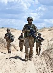 Patroling the desert