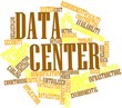 Word cloud for Data center