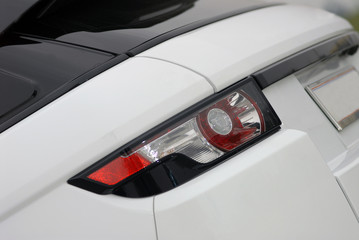 Back lamp of new luxury car, Rear light