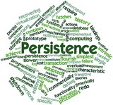 Word cloud for Persistence