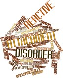Word cloud for Reactive attachment disorder poster