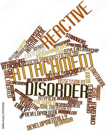 Word cloud for Reactive attachment disorder