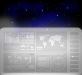 Touchscreen - Display (futuristisch)
