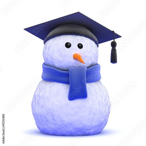 Snowman graduates
