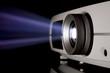 Leinwandbild Motiv video projection réunion
