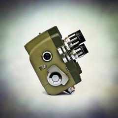 classic movie camera
