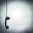black phone hanging