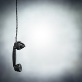 black phone hanging