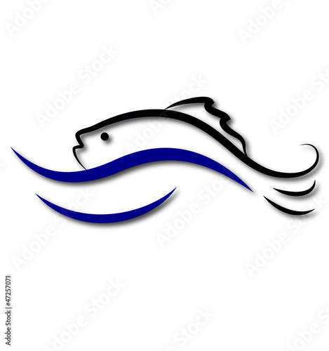 fish logo design for business