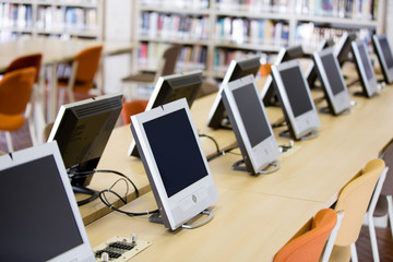 Computers room at the university