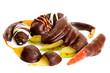 Frutta candita ricoperta di cioccolato