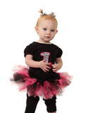 A One Year Old in a Tutu