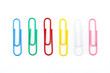 Different Colored Paper Clips