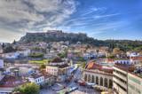 Monastiraki square and Acropolis in Athens,Greece - 47262033