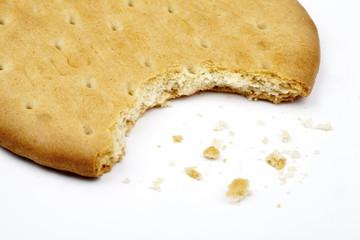 Half Eaten Biscuit