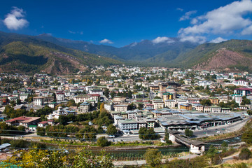 Thimphu, The capital of Bhutan1