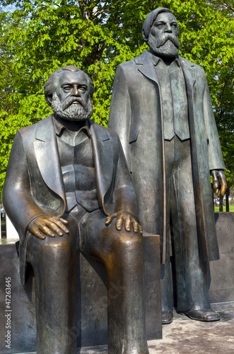 Marx-Engels-Forum in Berlin